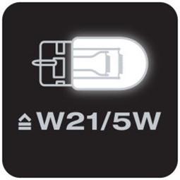Obr. Odpovídá W21/5W 1169983c