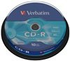 VERBATIM CD-R(10-Pack)Spindle/ EP/ DL/ 52x/ 700MB