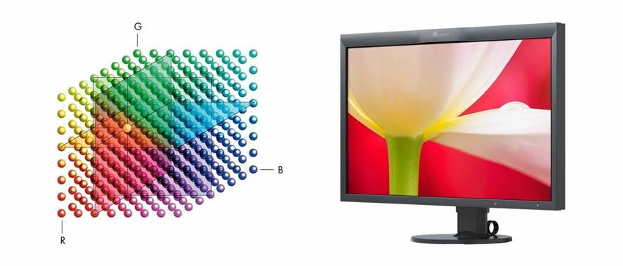 Obr. Přesné podání barev díky trojrozměrné tabulce LUT s vysokým rozlišením 1255942c