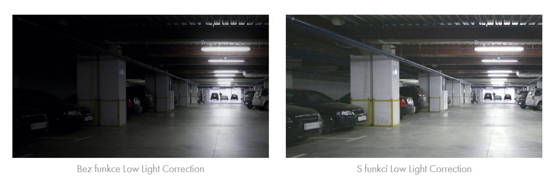 Obr. Low-Light Correction: Vylepšené zobrazování tmavých partií 1255966c