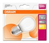 OSRAM LED STAR CL P GL Fros. 1, 4W 827 E27 136lm 2 ...