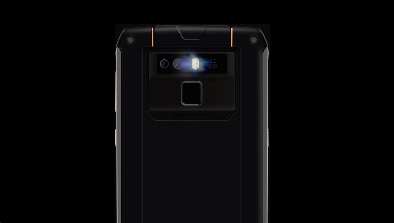 Obr. Dvojitá zadní kamera, přední fotoaparát s režimem krásy 1416709h