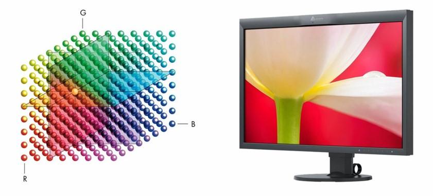Obr. Přesné podání barev díky trojrozměrné tabulce LUT s vysokým rozlišením 1447125e