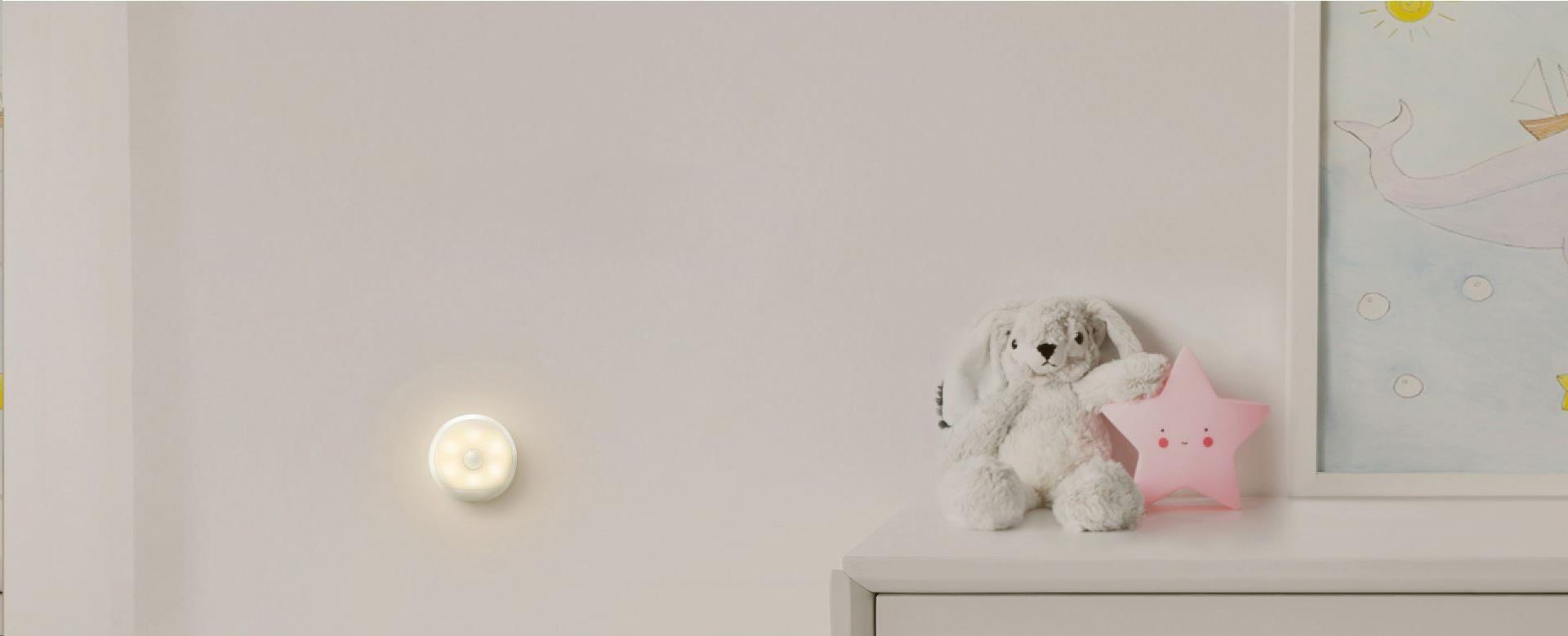 Obr. Yeelight LED duální senzorové noční světlo akumulátorové 1455277a
