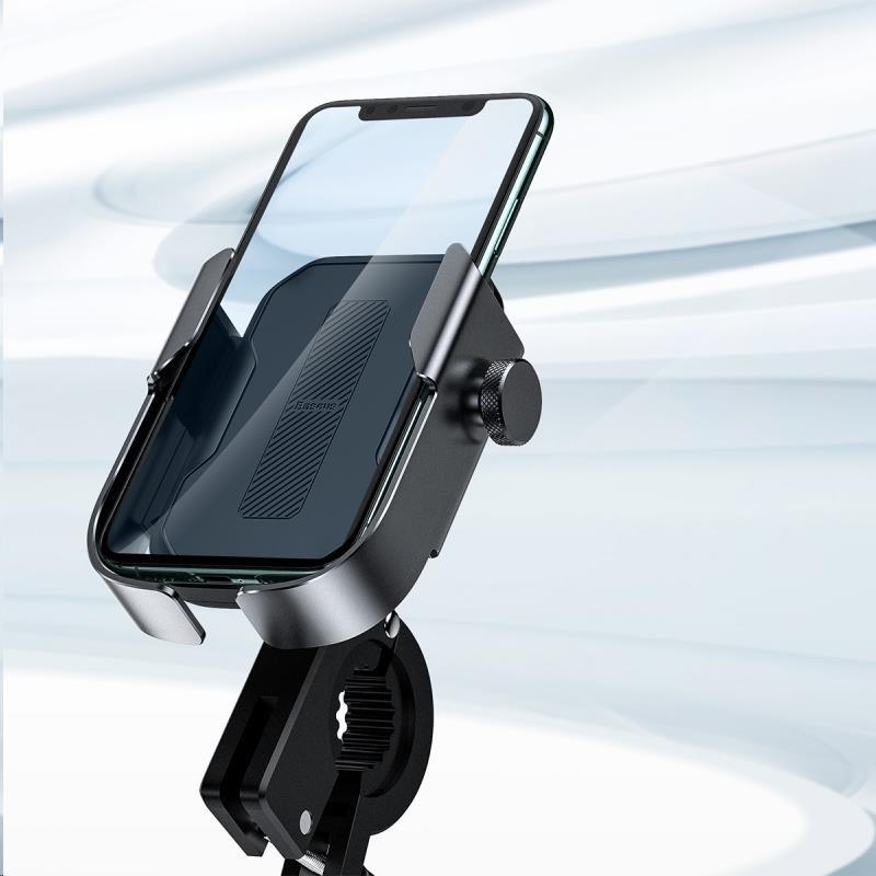 Obr. Baseus univerzální držák na mobilní telefon na kolo / motocykl Armor 1523441a