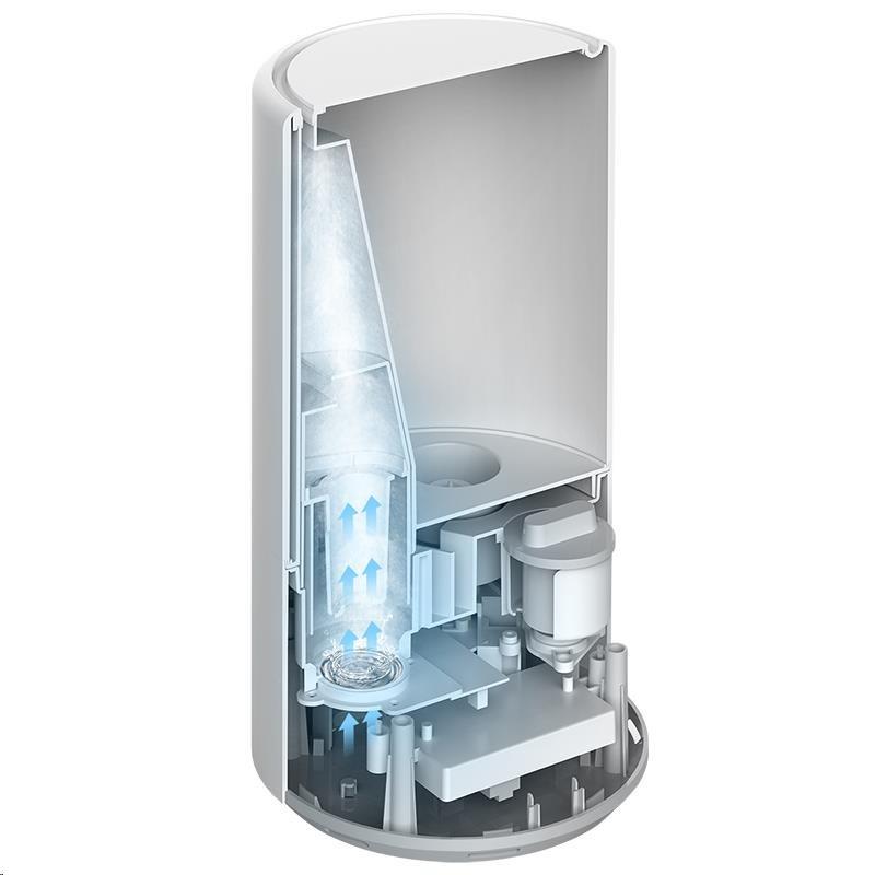 Obr. Ultrazvukové zvlhčování s UV-C světlem 1526447a