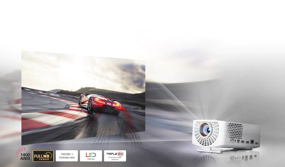 Obr. Nejlepší přenosný LED projektor 1530365a