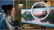 Obr. Bezpečné přihlašování s výklopnou webovou kamerou s funkcí Windows Hello™ 1556853c