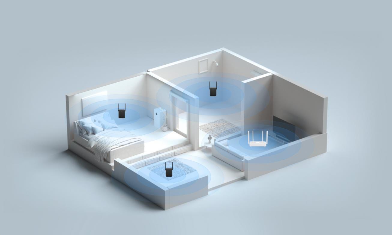 Obr. Vysokorychlostní WiFi v celém vašem domě 1580086a