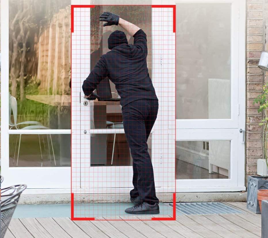 Obr. Bezstarostný design proti krádeži, PIR detekce člověka 1594322e