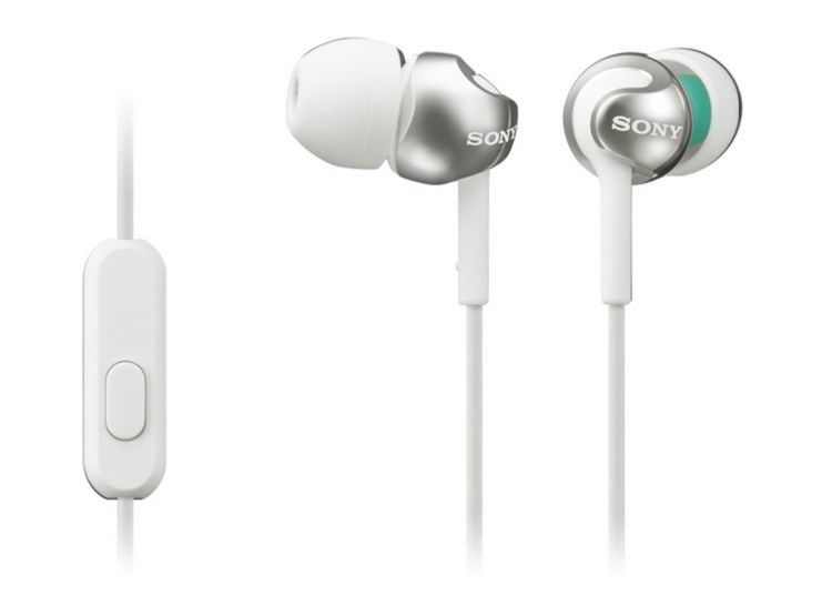 Obr. SONY MDR-EX110AP - Čistý zvuk a decentní styl k vašemu chytrému telefonu 544578a