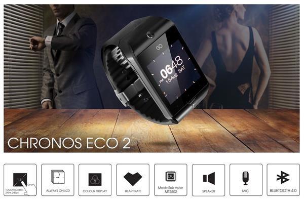 Obr. SMARTWATCH CHRONOS CONNECT 2 – inteligentní hodinky nové generace 569376a