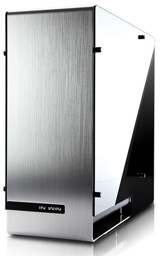 Obr. Jedinečné HDD & PSU vnitřní uspořádání 601710b