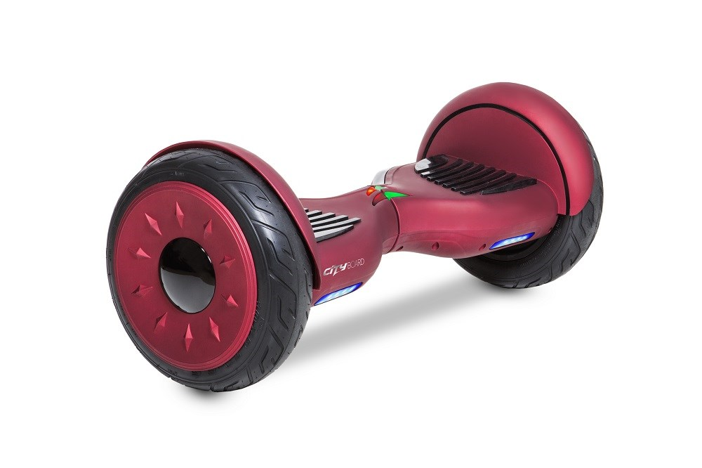 GOCLEVER CITY BOARD CRUISER RED