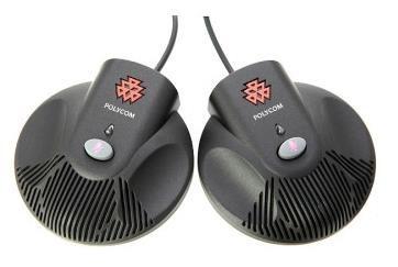 Polycom sada externích mikrofonů pro SoundStation 2 (2x modul s mikrofony, tlačítko mute s LED indikací)