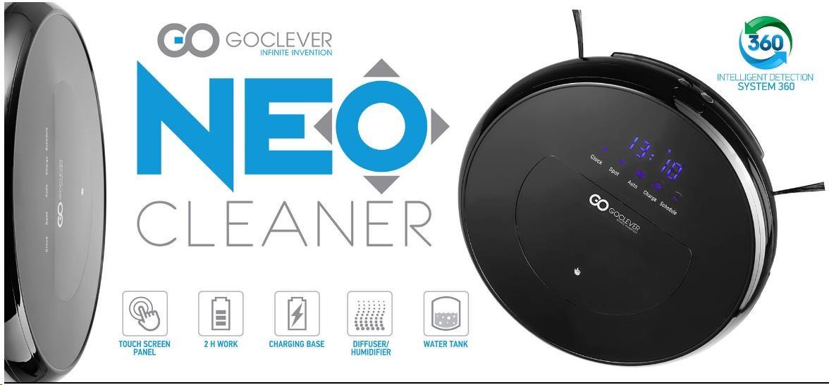 Obr. Inteligentní vysavač s mopem a funkcí osvěžování vzduchu 659408a