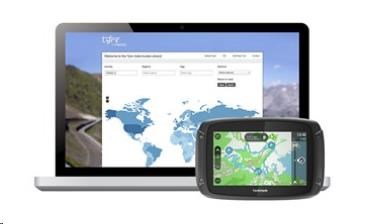 Obr. Bezplatné plánování tras s aplikací Tyre Pro 677840g