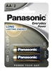 PANASONIC Alkalické baterie Everyday Power  LR6EPS/  2BP AA 1, 5V (Blistr 2ks)