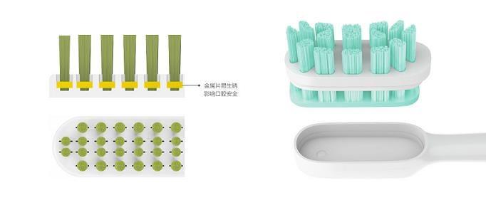 Obr. Xiaomi Mi Sonic Electric Toothbrush - náhradní hlavice 994856a